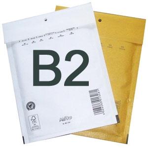 Luftpolstertaschen B2 140x225 mm Braun