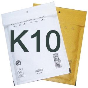Luftpolstertaschen K10 370x480 mm Weiss