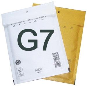 Luftpolstertaschen G7 250x350 mm Weiss