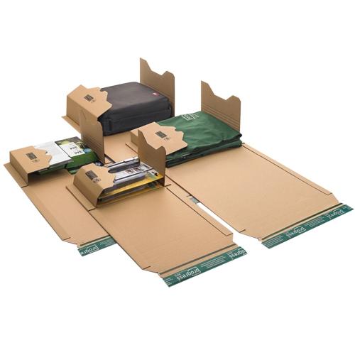 Universal-Versandverpackung 268x160x-72 mm A5