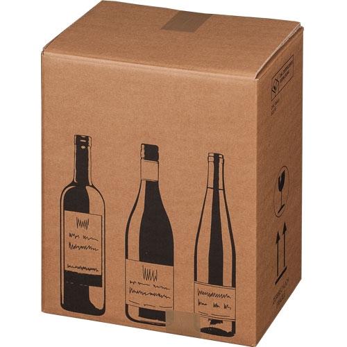 Flaschenkarton 6er 305x212x368 mm