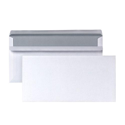 Briefumschläge ohne Fenster DIN Lang 110 x 220 mm