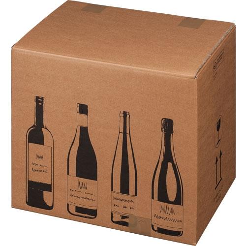 Flaschenkarton 12er 420x305x368 mm