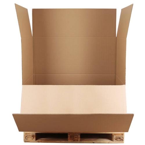 Palettenkarton 1180x780x1070 mm Abklappbar