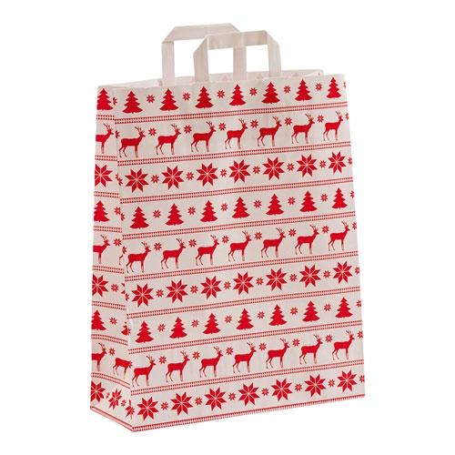 Papiertragetasche Merry Christmas