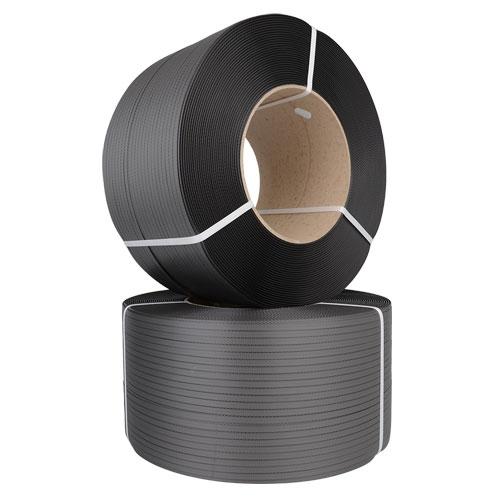 Umreifungsband 2500m 11,8 mm x 0,55 mm 200 mm Kern Schwarz