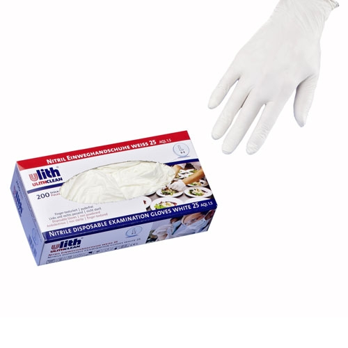 200x Einweghandschuhe Weiß