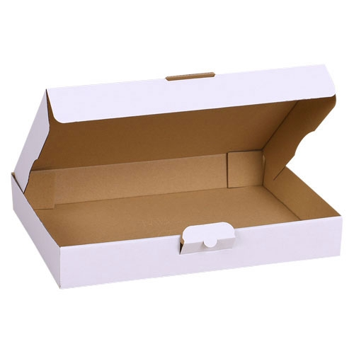 Maxibriefkarton 350x250x50 mm - Weiß