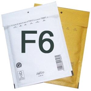 Luftpolstertaschen F6 240x350 mm Weiss