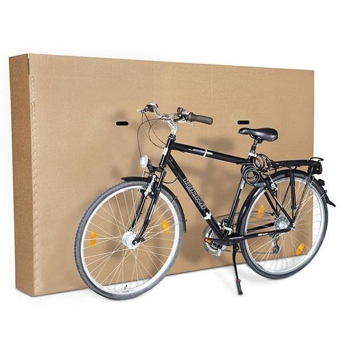 Faltkarton 1800x350x1000 mm - 2-wellig Fahrradkarton