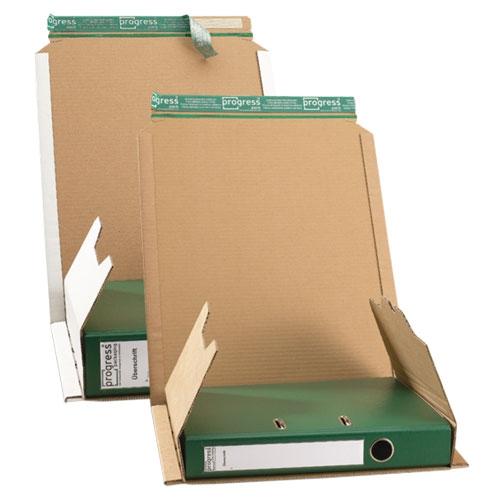 Ordner-Versandverpackung 370x297x-90 mm A4