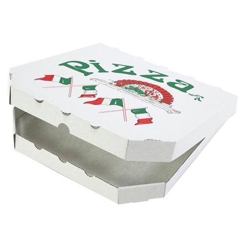 "Pizzakarton 200x200x30 mm ""Treviso"" Weiß"