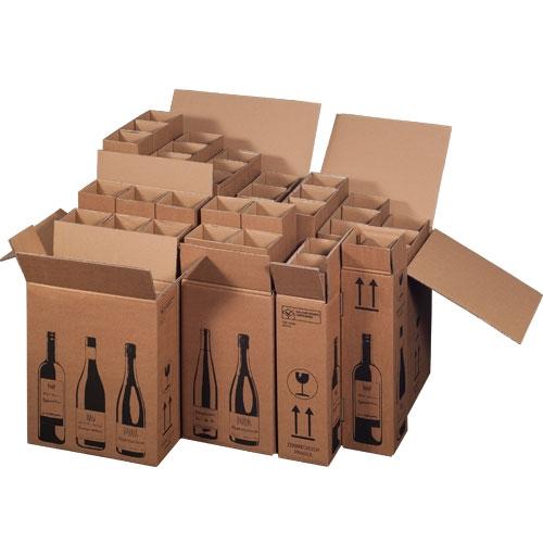 Flaschenkarton 18er 628x305x368 mm