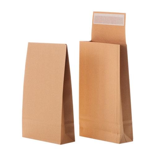 Faltentaschen DIN B4 Braun 250 x 353 x 40 mm