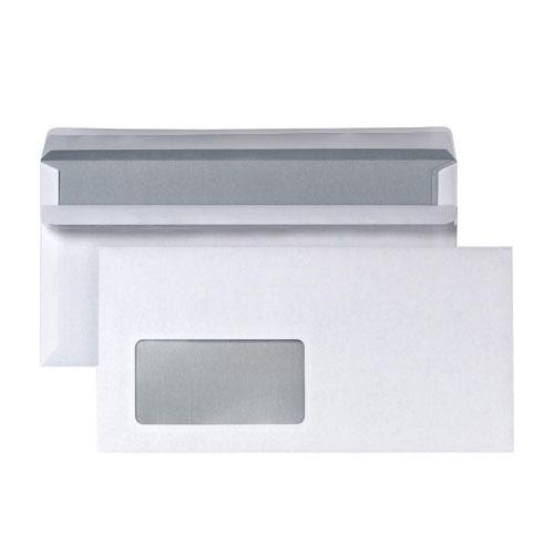 Briefumschläge mit Fenster DIN Lang 110 x 220 mm