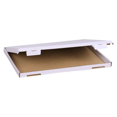 Großbriefkarton 350x250x20 mm - Weiß