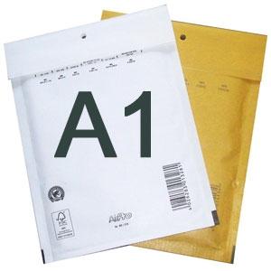 Luftpolstertaschen A/1 120x175 mm Braun