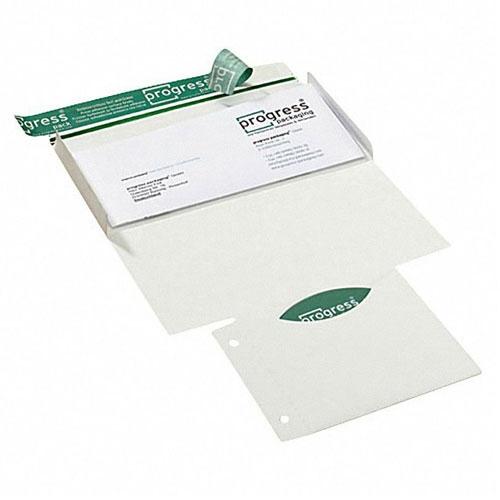 CD Mailer mit Archivtasche 223x125x3 mm Fenster Links Weiß