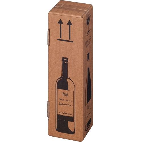 Flaschenkarton 1er 105x105x420 mm