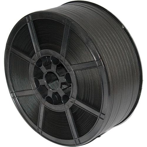 Umreifungsband 1300 m 12,0 mm x 0,76 mm 50 mm Kern Schwarz