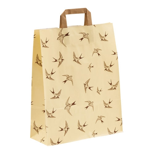 Papiertragetasche Schwalben Swallows